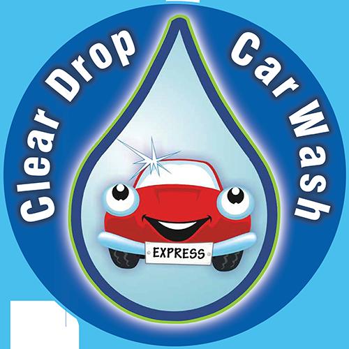 Clear Drop Car Wash Logo